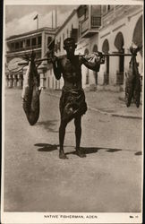 Native Fisherman With Catch