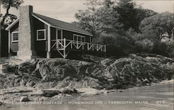 The Houseboat Cottage -- Homewood Inn -- Yarmouth, Maine