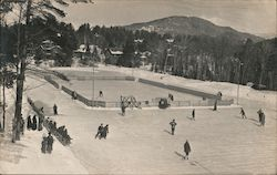 Outdoor Ice Skating and Hockey Rink, Lake Placid Club