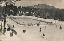 Ice Rink on Skating Pond