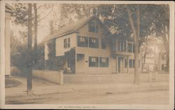 The Whittier Home Postcard