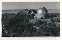 Building for 120-Inch Telescope, Lick Observatory