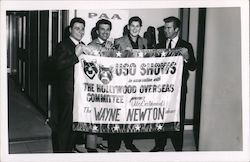 Wayne Newton USO Shows