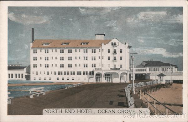 The North End Hotel Ocean Grove New Jersey