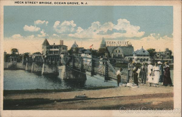Heck Street Bridge Ocean Grove New Jersey