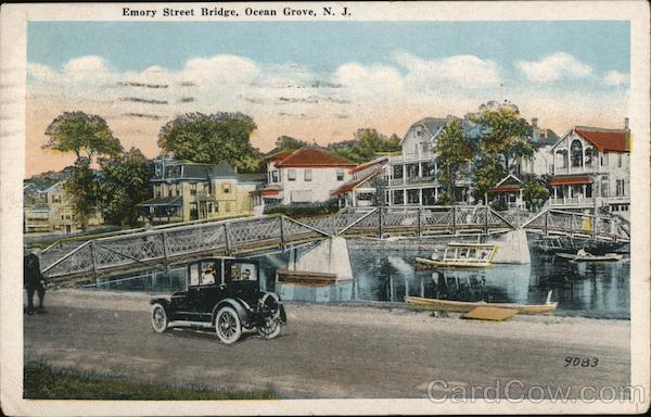 Emory Street Bridge Ocean Grove New Jersey