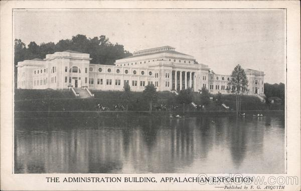 Administration Building, Appalachian Exposition 1910 Knoxville Tennessee