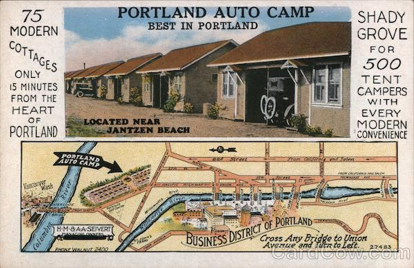 Portland Auto Camp Oregon