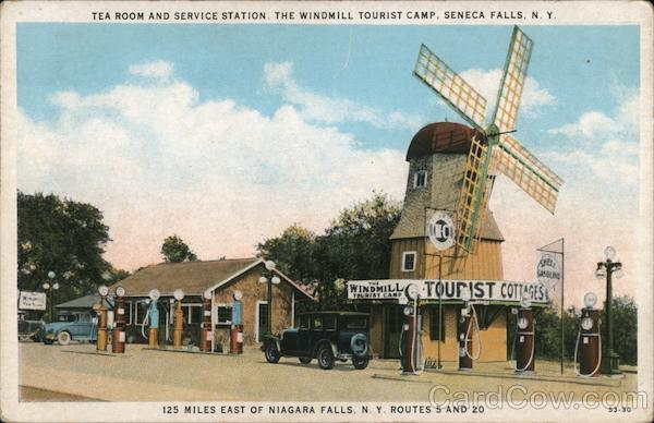 The Windmill Tourist Camp Seneca Falls New York