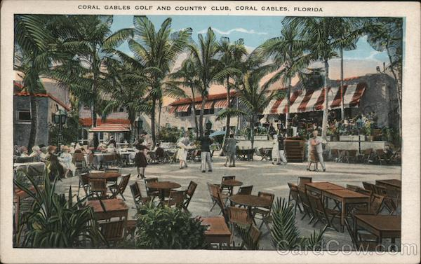 Coral Gables and Country Club Florida