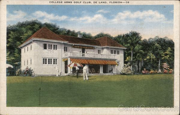 College Arms Golf Club DeLand Florida