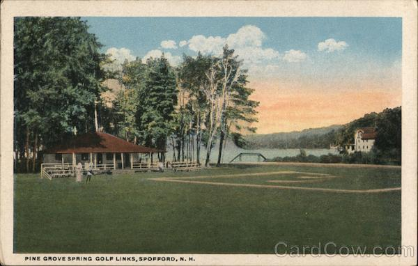 Pine Grove Spring Golf Links Spofford New Hampshire
