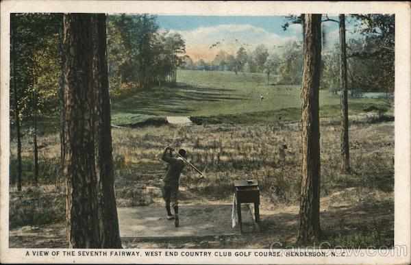 A View of the Seventh Fairway Henderson North Carolina