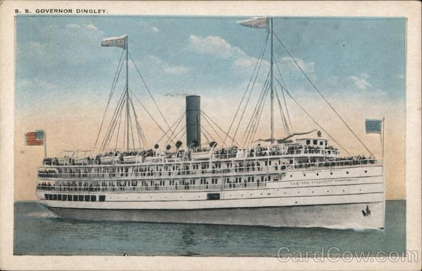 S.S. Governor Dingley Boats, Ships
