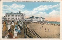 North End Hotel Showing Boardwalk and Beach