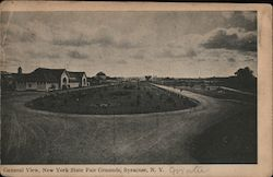 General View of New York State Fair Grounds Postcard