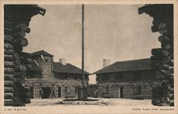 Court Yard, Fort Dearborn
