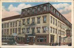 Hotel Weimer on Wm. Penn Highway