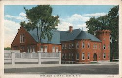Gymnasium U. of N.H. Postcard