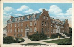 The Commons University Of N.H. Postcard
