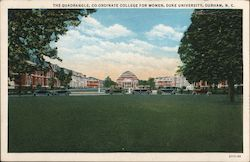 The Quadrangle, Co-ordinate College for Women, Duke University Postcard