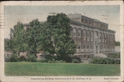 Engineering Building at the University of New Hampshire. Postcard