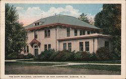 The Dairy Building, University of New Hampshire Postcard