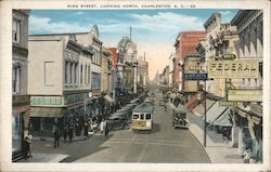 King Street Looking North Postcard