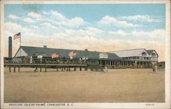 Pavilion, Isle of Palms Postcard