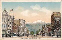Washington Avenue Postcard