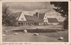 Teugega Country Club House Postcard