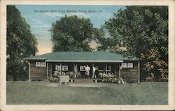 Buchanan Golf Club House Postcard
