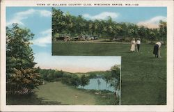 Views at Bullseye Country Club Postcard
