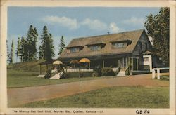 The Murray Bay Golf Club Postcard