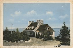 Club House, Manoir Richelieu Golf Club Postcard