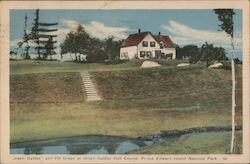 """Green Gables"" and 9th Green, Green Gables Golf Course"