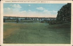 Fairway, Manasquan River Golf and Country Club Postcard