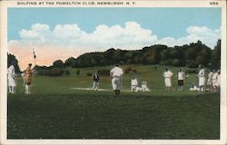 Golfing at the Powelton Club