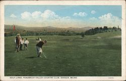 Golf Links, Penobscot Valley Country Club