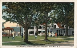 Putting Green, Russell Cottages, White Mts.