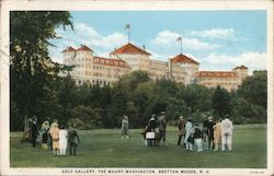Golf gallery, The Mount Washington