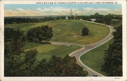 Bird's-Eye View of Virginia Country Club and Golf Links