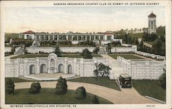 Gardens Swannanoa Country Club on Summit of Jefferson Highway