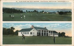 Club House and Golf Grounds, Chautauqua Institution