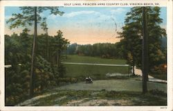 Golf Links, Princess Anne Country Club Postcard