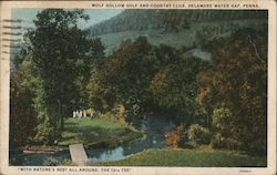 Wolf Hollow Golf and Country Club Postcard