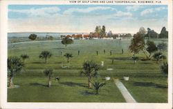 View of Golf Links and Lake Tohopekaliga