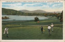 View of Golf Links from No. 2 Green Postcard