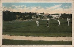 Golf Links, Showing Old Fort in Distance