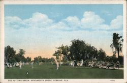 The Putting Green, Kenilworth Lodge